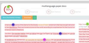Plagiarism check tools