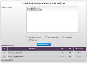 bulk domain authority checker