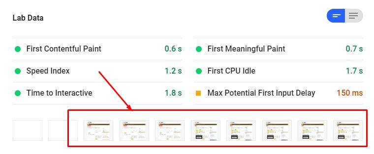 google speed insights