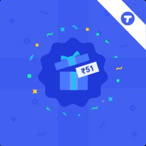 tez 51 cashback reward