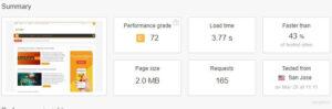 tools pingdom website speed check